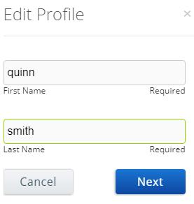 how to change my address