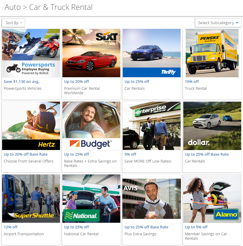 Rental Search: Car Rental & Truck Search Tool (USA)